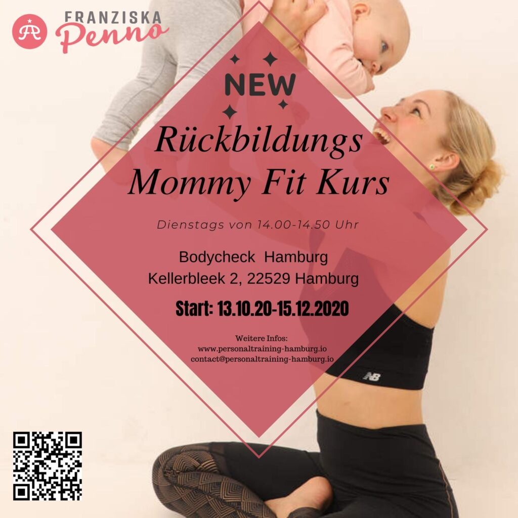 Rückbildungskurs - Franziska Penno Flyer Kurse Hamburg